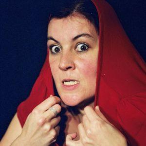 les yeux rouges, christine andrien sur scène