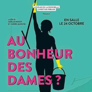 Affiche du documentaire Au bonheur des dames sur le secteur des titres services