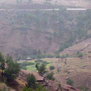 paysages de montagnes au Maroc