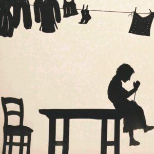 photo du spectacle le petit tailleur avec théâtre d'ombres