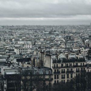 photo de paris vue du ciel par Greta Scholderle Moller