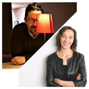 Portraits de Tania Bosak et Manu Lurquin