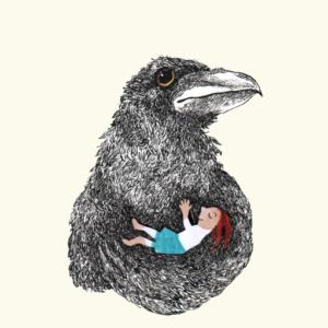 noun la petite fille corbeau